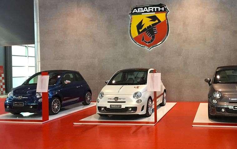 500 Abarth showroom Torino | Architetto Previato | AP Studio