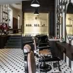 Arredamento completo per barbiere | Architetto Previato | AP STUDIO