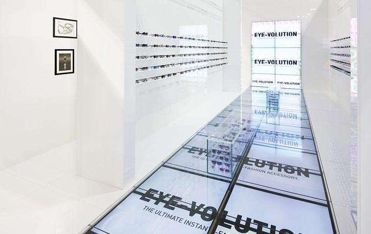 Spazio espositivo Italia Independent fiera Mido Milano | AP STUDIO | Architetto Previato