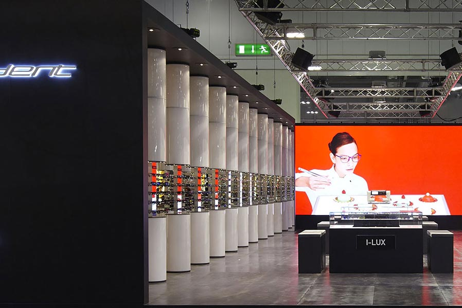 Allestimento stand Exhibition – Mido Italia Independent | Architetto Previato | AP STUDIO