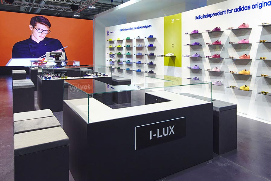 Stand fieristico Italia Independent for Adidas | AP STUDIO | Architetto Previato