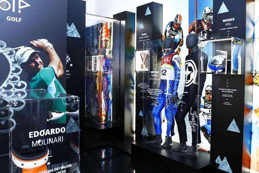 Parete celebrativa - Juventus Museum | Architetto Previato | AP Studio