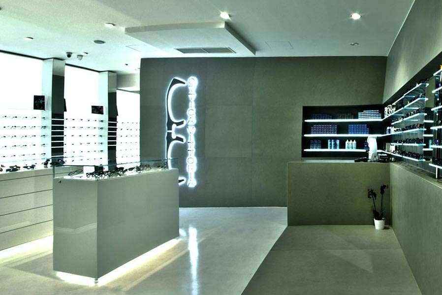 Arredamento per negozi di ottica | AP STUDIO | Architetto Previato